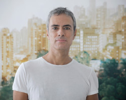 Francesco Jodice, 2016; portarit by Sara Gentile