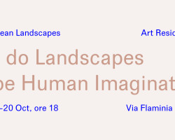 How do landscapes shape human imagination? Presentazione della residenza Mediterranean landscapes