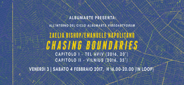 INVITO CHASING BOUNDARIES ITA