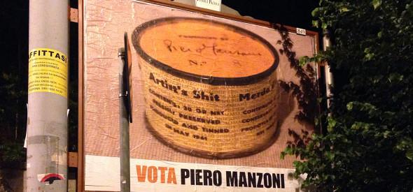 Iginio De Luca - Vote Piero Manzoni. 2014